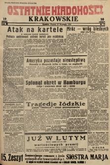 Ostatnie Wiadomości Krakowskie. 1933, nr27