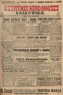 Ostatnie Wiadomości Krakowskie. 1933, nr34