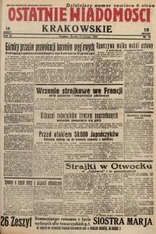 Ostatnie Wiadomości Krakowskie. 1933, nr53