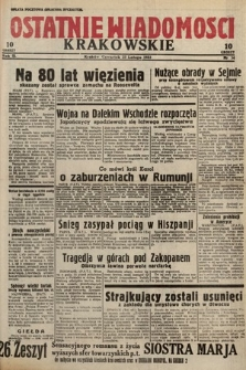 Ostatnie Wiadomości Krakowskie. 1933, nr54