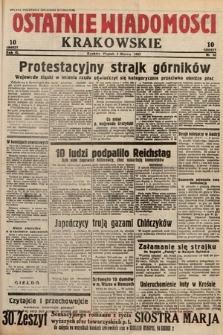 Ostatnie Wiadomości Krakowskie. 1933, nr62