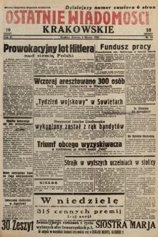 Ostatnie Wiadomości Krakowskie. 1933, nr63