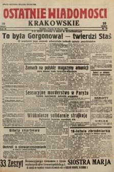 Ostatnie Wiadomości Krakowskie. 1933, nr69