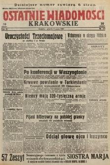 Ostatnie Wiadomości Krakowskie. 1933, nr123