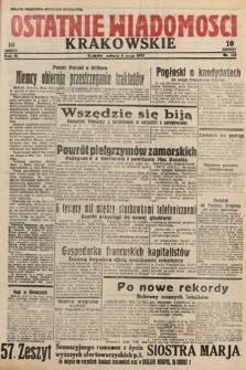Ostatnie Wiadomości Krakowskie. 1933, nr124
