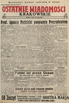 Ostatnie Wiadomości Krakowskie. 1933, nr128