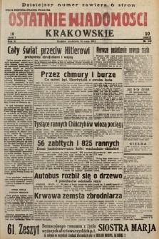 Ostatnie Wiadomości Krakowskie. 1933, nr132