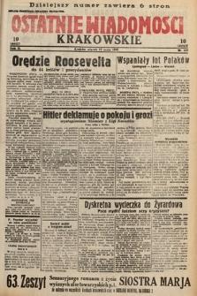 Ostatnie Wiadomości Krakowskie. 1933, nr137