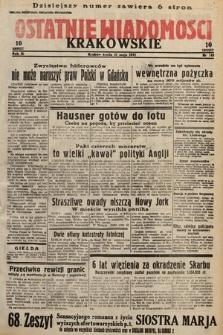 Ostatnie Wiadomości Krakowskie. 1933, nr149