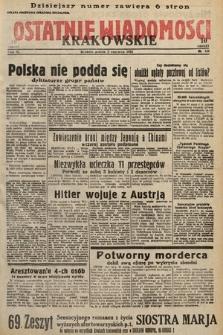 Ostatnie Wiadomości Krakowskie. 1933, nr151