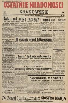 Ostatnie Wiadomości Krakowskie. 1933, nr164