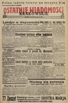 Ostatnie Wiadomości Krakowskie. 1933, nr171