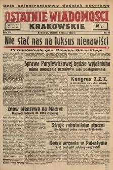 Ostatnie Wiadomości Krakowskie. 1937, nr68