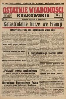 Ostatnie Wiadomości Krakowskie. 1937, nr77