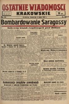 Ostatnie Wiadomości Krakowskie. 1937, nr124