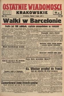 Ostatnie Wiadomości Krakowskie. 1937, nr125