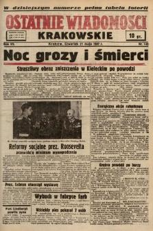 Ostatnie Wiadomości Krakowskie. 1937, nr145