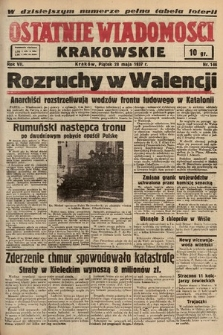 Ostatnie Wiadomości Krakowskie. 1937, nr146