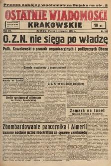 Ostatnie Wiadomości Krakowskie. 1937, nr153