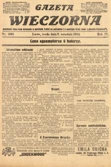 Gazeta Wieczorna. 1914, nr2061