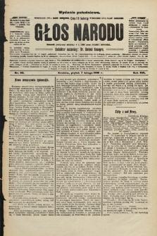 Głos Narodu : dziennik polityczny, założony w r. 1893 przez Józefa Rogosza (wydanie południowe). 1908, nr63