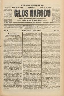 Głos Narodu : dziennik polityczny, założony w r. 1893 przez Józefa Rogosza (wydanie wieczorne). 1908, nr64