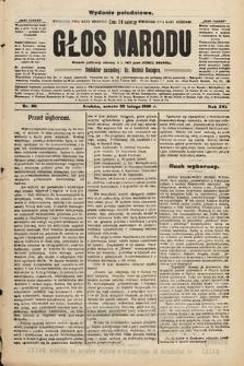 Głos Narodu : dziennik polityczny, założony w r. 1893 przez Józefa Rogosza (wydanie południowe). 1908, nr89