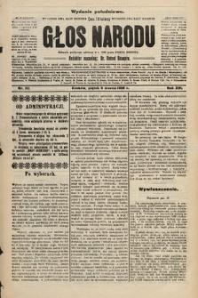 Głos Narodu : dziennik polityczny, założony w r. 1893 przez Józefa Rogosza (wydanie południowe). 1908, nr111