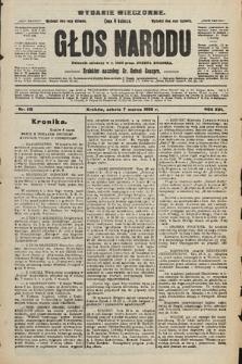 Głos Narodu : dziennik polityczny, założony w r. 1893 przez Józefa Rogosza (wydanie wieczorne). 1908, nr112