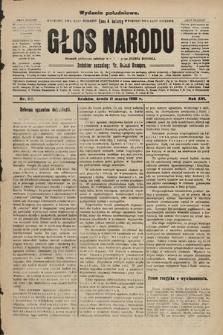 Głos Narodu : dziennik polityczny, założony w r. 1893 przez Józefa Rogosza (wydanie południowe). 1908, nr117