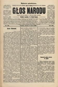 Głos Narodu : dziennik polityczny, założony w r. 1893 przez Józefa Rogosza (wydanie południowe). 1908, nr129
