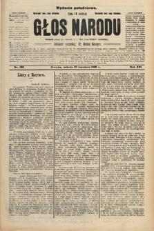 Głos Narodu : dziennik polityczny, założony w r. 1893 przez Józefa Rogosza (wydanie południowe). 1908, nr192