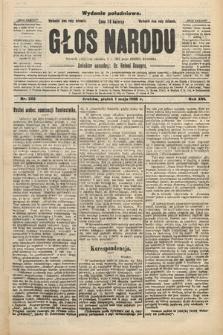 Głos Narodu : dziennik polityczny, założony w r. 1893 przez Józefa Rogosza (wydanie południowe). 1908, nr202