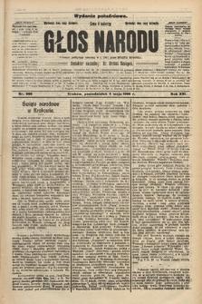 Głos Narodu : dziennik polityczny, założony w r. 1893 przez Józefa Rogosza (wydanie południowe). 1908, nr206