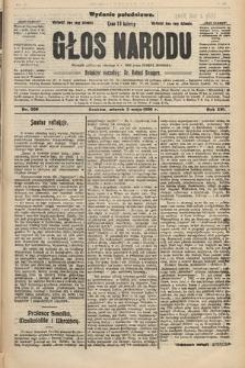 Głos Narodu : dziennik polityczny, założony w r. 1893 przez Józefa Rogosza (wydanie południowe). 1908, nr208