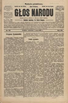 Głos Narodu : dziennik polityczny, założony w r. 1893 przez Józefa Rogosza (wydanie południowe). 1908, nr212
