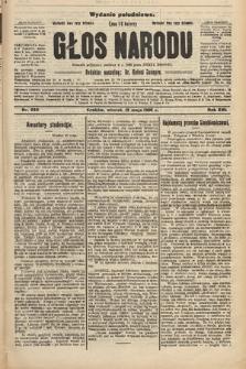 Głos Narodu : dziennik polityczny, założony w r. 1893 przez Józefa Rogosza (wydanie południowe). 1908, nr230