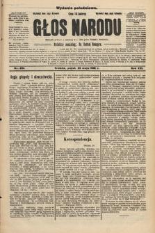 Głos Narodu : dziennik polityczny, założony w r. 1893 przez Józefa Rogosza (wydanie południowe). 1908, nr234