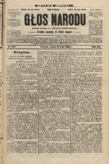 Głos Narodu : dziennik polityczny, założony w r. 1893 przez Józefa Rogosza (wydanie wieczorne). 1908, nr235