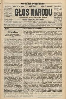 Głos Narodu : dziennik polityczny, założony w r. 1893 przez Józefa Rogosza (wydanie wieczorne). 1908, nr241