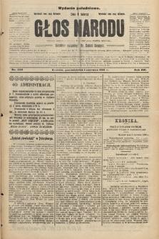 Głos Narodu : dziennik polityczny, założony w r. 1893 przez Józefa Rogosza (wydanie południowe). 1908, nr250