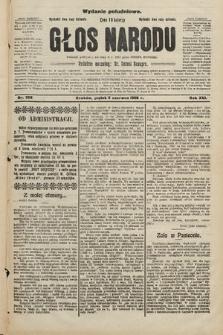Głos Narodu : dziennik polityczny, założony w r. 1893 przez Józefa Rogosza (wydanie południowe). 1908, nr258