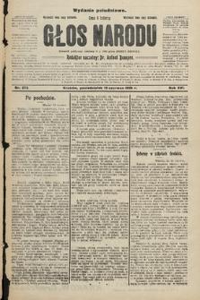 Głos Narodu : dziennik polityczny, założony w r. 1893 przez Józefa Rogosza (wydanie południowe). 1908, nr272