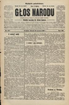 Głos Narodu : dziennik polityczny, założony w r. 1893 przez Józefa Rogosza (wydanie południowe). 1908, nr274