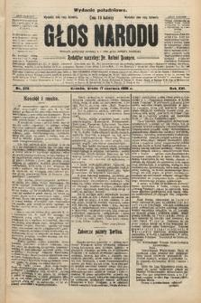 Głos Narodu : dziennik polityczny, założony w r. 1893 przez Józefa Rogosza (wydanie południowe). 1908, nr276
