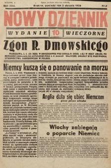 Nowy Dziennik (wydanie wieczorne). 1939, nr2