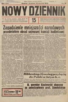 Nowy Dziennik. 1939, nr12