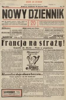 Nowy Dziennik. 1939, nr15