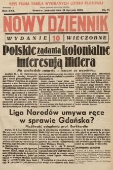 Nowy Dziennik (wydanie wieczorne). 1939, nr16