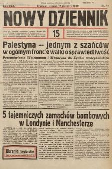 Nowy Dziennik. 1939, nr17